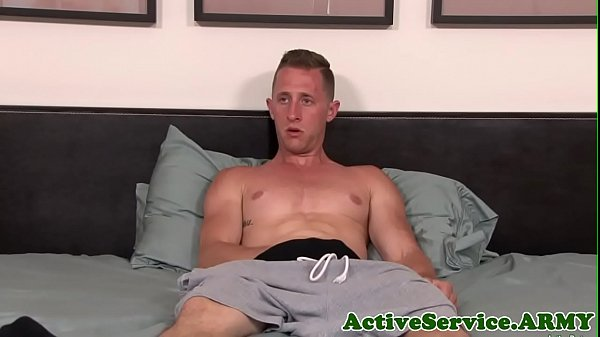 Soldier, Stroking, Athletic