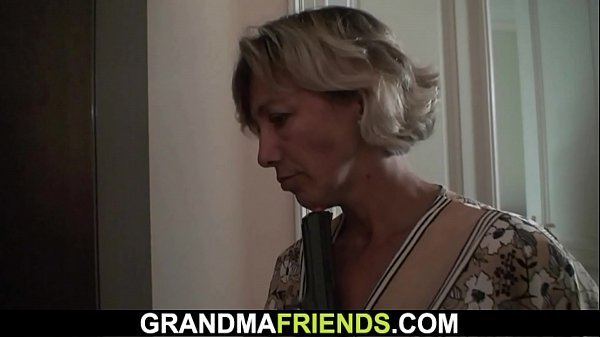 Old woman, Two dicks, Old dick, Two woman