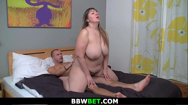 Plumper, Plumpers, Big man, Riding big tits
