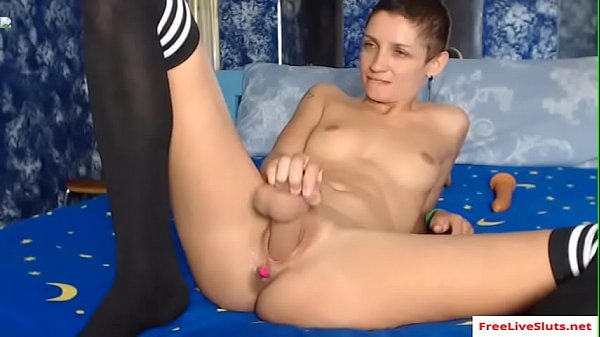 Masturbate, Short hair, Short, Solo webcam, Webcam solo, Solo masturbation