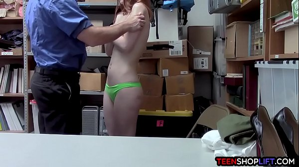 Security, Caught, Teen caught, Steal, Caught fuck, Caught and fucked