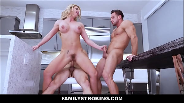 Father and son, Stepmom and son, Stepmoms, Son and father, Milf threesome, Father and