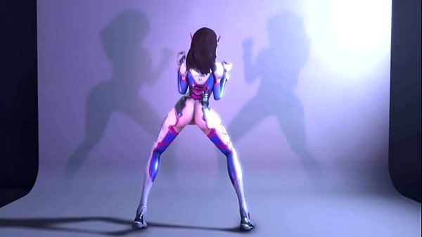 Cartoon, Dance, Overwatch, Cartoons, D va