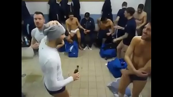 Celebrities, Football, Change, Changing room, Victory, Changing