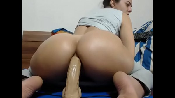 Hot ass, Dildo riding, Thick ass, Dildo hot
