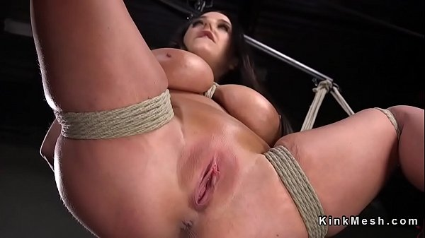 Caning, Natural tits, Natural tit, Hogtied