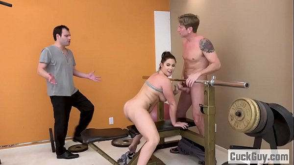 Hairy fuck, In front of husband, Personal trainer, Personal, Front husband, In front husband