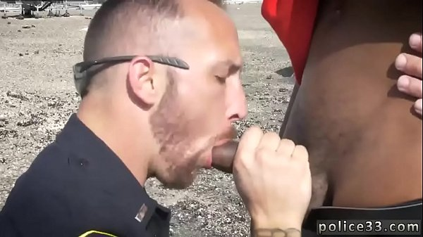 Police, Gay police, Cum swallow