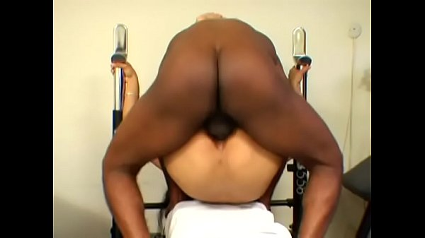 Fitness, Fit, Big man, Exercise, Tri some, Ebony booty