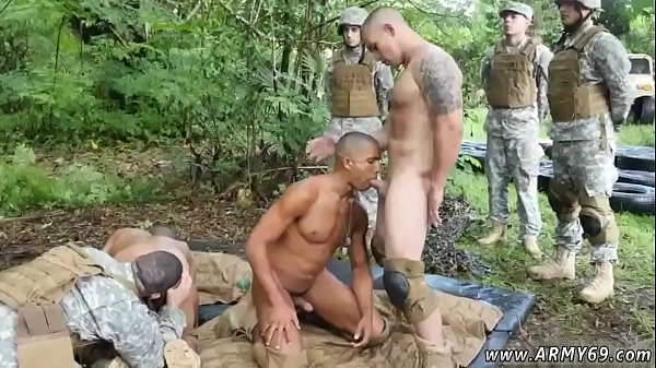 Army, Jungle, First time gay