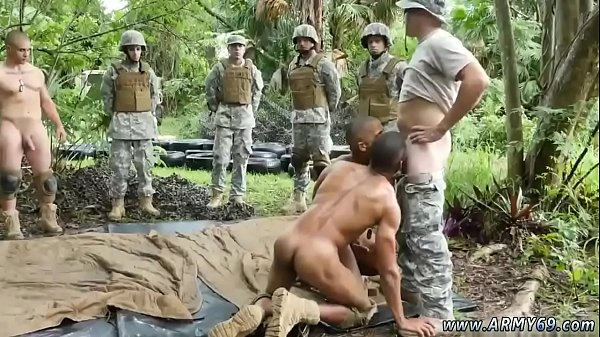 Jungle, Military, Gay soldier, Men hairy