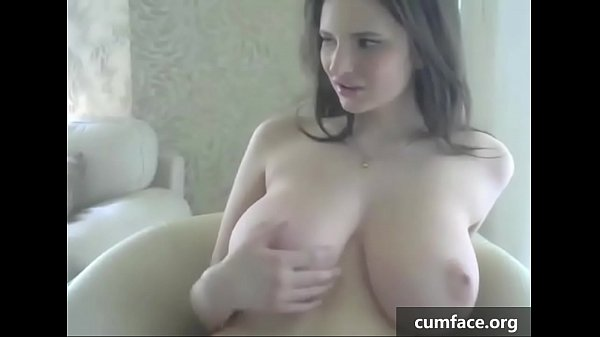 Natural tits, Cum on tits, Huge cum, Cum tit