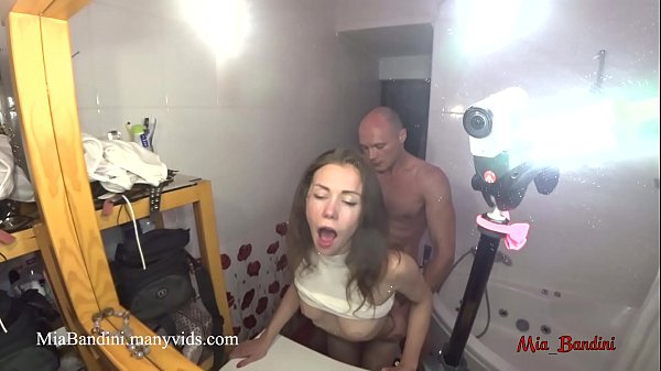 Beauty, Bathroom, Get caught, Teen caught