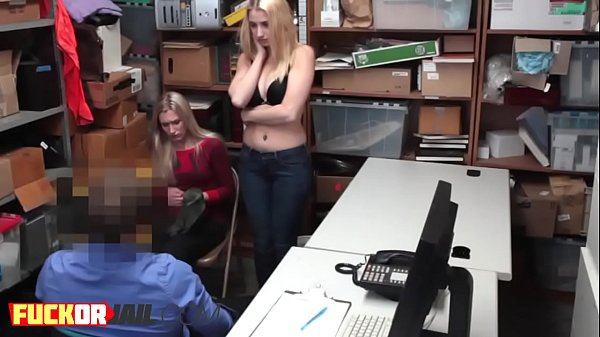 Shoplifter, Shoplifte, Busty blonde