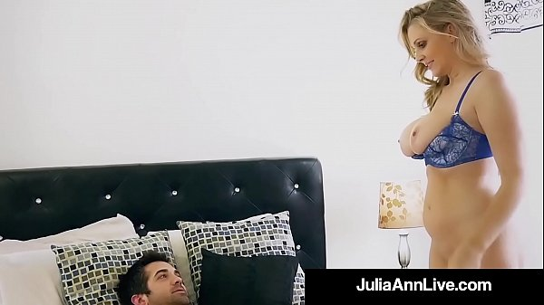 Julia ann, Julia, Step son, Mom & son, Mom milf, Moms son
