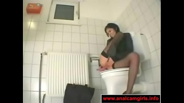 Toilet, Office girl, Masturbates, Toilet masturbation, In toilet, Office toilet