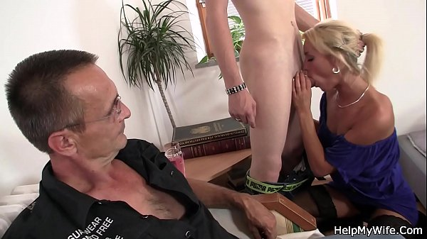 Young old, Young man, Young wife, Old man fuck, Blonde wife, Wife young