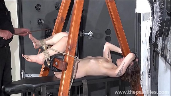 Slave, Punishment, Tie, Foot fetish, Foot slave, Whipped