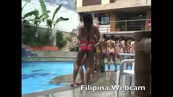 Hotel, Manila, Pool party, In pool